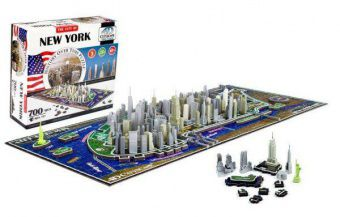 4D Cityscape Time Puzzle Нью-Йорк